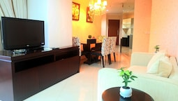2 BR Central Location Sahid Sudirman Residence By Travelio