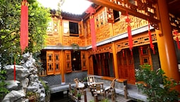 Cheng Garden Red Wood Courtyard