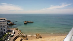 Apartment With 2 Bedrooms in Biarritz, With Wonderful sea View and Wif