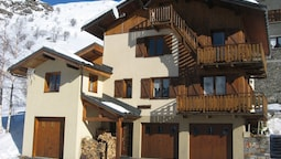 Apartment With 2 Bedrooms in Les Ménuires, With Wonderful Mountain Vie