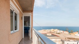 Apartment With 3 Bedrooms in Torrevieja, With Wonderful sea View, Terr