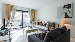 Apartment With 3 Bedrooms in Cannes, With Wonderful City View, Furnish