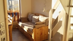 Apartment With one Bedroom in Val Thorens, With Wonderful Mountain Vie