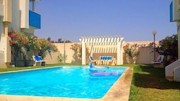 Apartment With 2 Bedrooms in Hammamet, With Wonderful sea View, Shared
