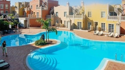 Apartment With 2 Bedrooms in Palm-mar, With Pool Access, Furnished Ter
