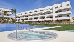Apartment With 3 Bedrooms in Orihuela, With Wonderful sea View, Pool A