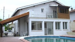 Bright and Modern House With 3 Rooms in Carcassonne, With Private Pool