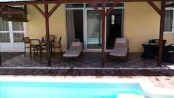 Villa With 3 Bedrooms in Pointe aux Cannoniers, With Private Pool, Fur