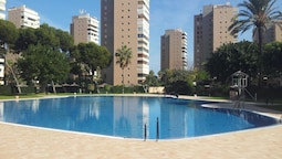 Apartment With 3 Bedrooms in Torremolinos, With Wonderful sea View, Po