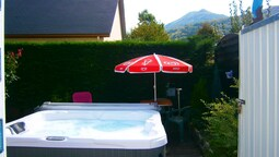 House With one Bedroom in Lourdes, With Wonderful Mountain View, Enclo