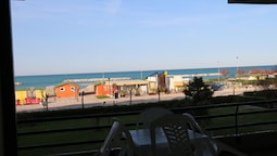 Apartment With 2 Bedrooms in Fano, With Wonderful sea View, Furnished