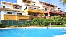 Apartment With 2 Bedrooms in Ayamonte, With Pool Access, Enclosed Gard