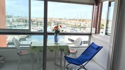 Studio in Cap D'agde, With Wonderful sea View and Furnished Balcony -