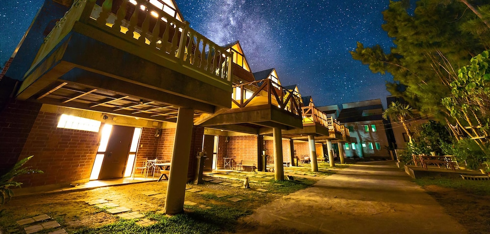 Okinawa starry forest cottage