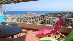 Apartment With 3 Bedrooms in Peniscola, With Wonderful sea View, Share