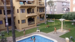 Apartment With 2 Bedrooms in La Mata, With Wonderful sea View, Pool Ac