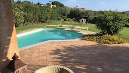 Villa With 4 Bedrooms in Palau, With Wonderful sea View, Private Pool,