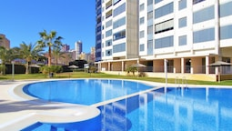 Apartment With one Bedroom in Benidorm, With Wonderful sea View, Share