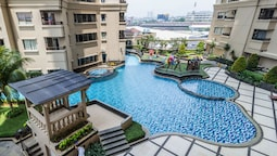 2BR Simple Look Mediterania Marina Residences Apartment