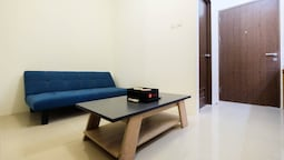 1BR Apartment with Sofa Bed at Northland Ancol Residence