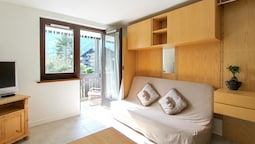 Studio in Chamonix-mont-blanc, With Wonderful Mountain View, Furnished