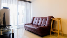 1BR Apartment with Sofa Bed at The H Residence