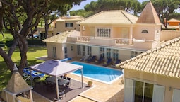 Villa With 7 Bedrooms in Quarteira, With Private Pool, Enclosed Garden