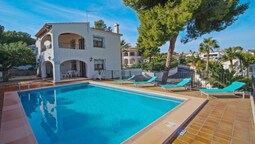 La Boniquessa - sea view villa with private pool in Benissa