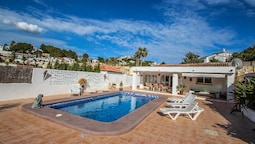La Caseta - charming, spanish finca style holiday villa in Moraira