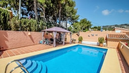Maurice - sea view villa with private pool in Costa Blanca