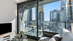 Melbourne City Kozy 1 Bed Modern and Quite Apt Vme031