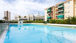 Apartment With 3 Bedrooms in Los Cristianos, With Wonderful sea View,