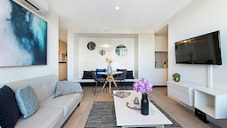 Melbourne City Centre Designer 2bedroom Apt Vme398
