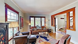 New Listing! Restored Beauty In Queen Anne 4 Bedroom Home
