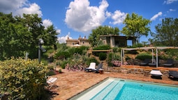 Valley-view Farmhouse in Umbertide With Pool and BBQ
