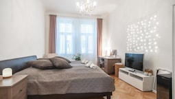 Lovely apartment in the famous hipster district of Letna