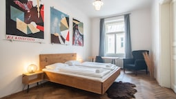 Fantastic flat with industrial feeling in Wenceslas Square for 5