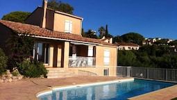 Villa With 4 Bedrooms in Roquebrune-sur-argens, With Private Pool, Enc