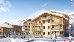 Modern Comfortable Apartment on the Slopes in Les Menuires