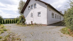 Very Large Group House in the Winterberg Skiing Area With Balconies an