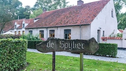 Authentic 18th Century Farmhouse With Fireplace, Located Near Bruges