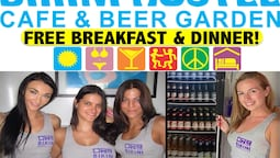 Bikini Hostel, Cafe & Beer Garden - Free Breakfast & Dinner